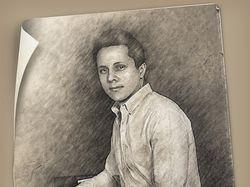 Стилизация фото под карандашный рисунок