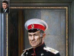 Арт-ретушь и фотомонтаж мужского портрета