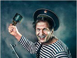 Фотомонтаж и обработка в стиле советских афиш