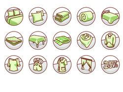 Комплект векторных иконок для интернет-магазина
