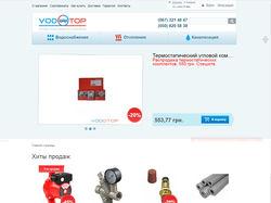 Оформление карточек товаров vodotop.net