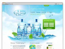 Модернизация сайта ТОО «Фирма Родник»
