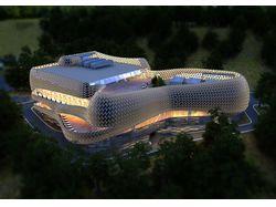Проект Spa центра. Киев 2012г.
