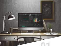 Дизайн сайта компации по продаже котлов