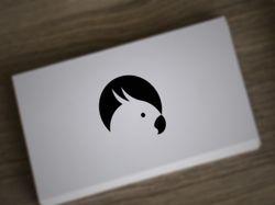Лого попугай