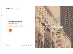 Дизайн для тематического аудио блога