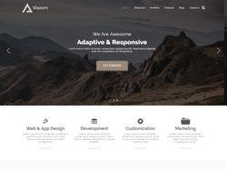 Шаблон платной темы для WordPress - Waxom