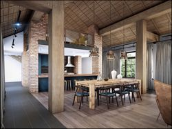 Private house loft