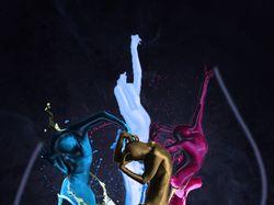 Танцующие краски