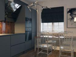 Дизайн интерьера однокомнатной квартиры.