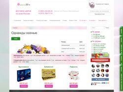 Интернет магазин продажи цветов