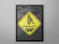 Логотип Vireality