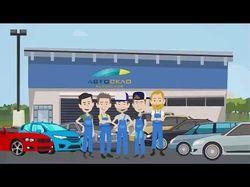 Видео-анимация для автосалона АВТОСКЛО
