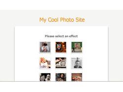 Система похожая на сайт http://photofun.od.ua