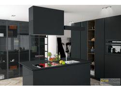 Дизайн проект кухни в стиле минимализм