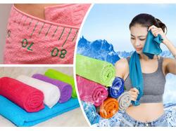 Упражнения для похудения с полотенцем