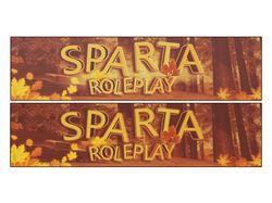Баннер для сообщества в стиле: Весна - Sparta RP