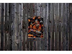 Постер на хелоувин