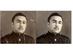 Примеры отреставрированных фото.