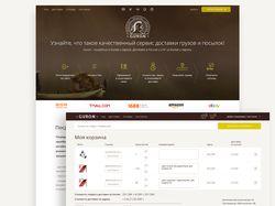 Доставка из Китая. Дизайн сайта и л. кабинета
