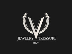 Jewelry Treasure Shop Logotype