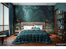 Проект дизайна и визуализации спальни