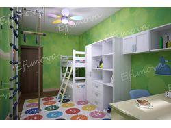 Детская комната. 3D Визуализация