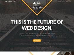 Web дизайн-Бизнес  сайт.