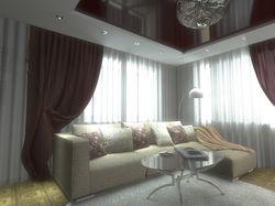 Интерьеры гостиной и спальни