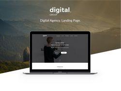 Digital Agency. Landing Page.
