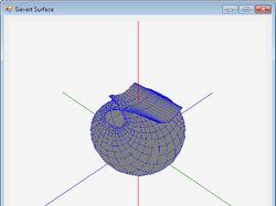 Визуализация 3D поверхности. OpenGL. C#