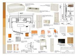 подбор мебели, обработка картинок