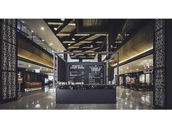 Кофейня в торговом центре
