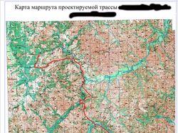 Трассировка на картах