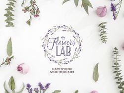 Фирменный стиль для магазина цветов