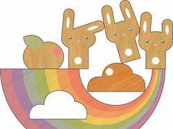 деревянная игрушка (баланс)