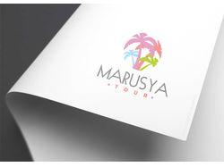Marusya Tour. Logo.