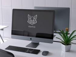 """Логотип для человека, который зовёт себя """"AlexFox"""""""