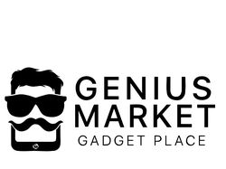 "Логотип для ""GENIUS MARKET"""