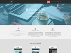 Адаптивный лендинг на Bootstrap