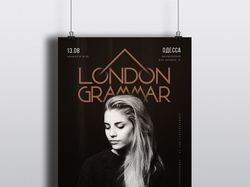 "Афиша ""London Grammar"""