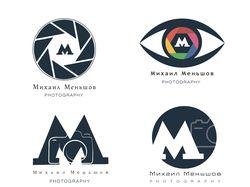 Варианты Лого для фотографа