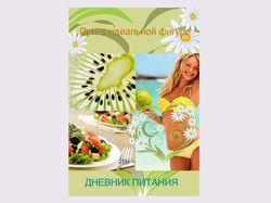 Дизайн продукции Ежедневник питания