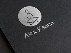 Логотип и визитки для музыканта.