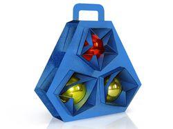 Упаковка елочных игрушек