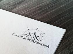 """Лого для сайта туристической компании """" Искатели п"""