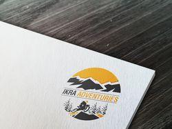 """Лого для туристической компании """"Ikra Adventures"""""""
