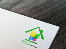 """Логотип для фирмы """"Home ремонт"""""""
