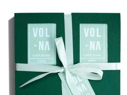 Фирменный стиль линии упаковок для шоколада