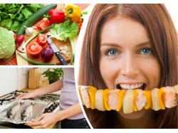диета на овощах и рыбе